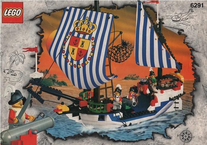 LEGO Armada Flagship 6291