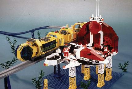 LEGO Sea Tron Monorail